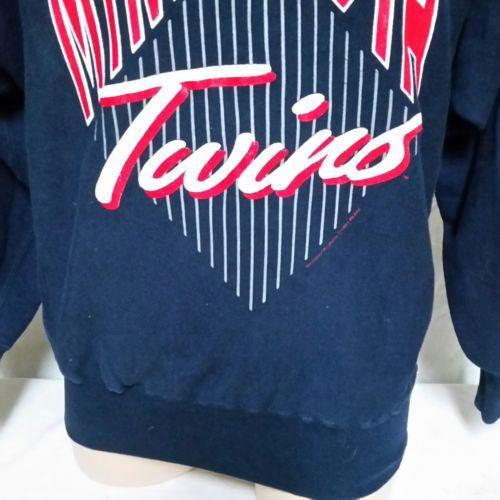 VTG 1991 Minnesota Twins Champion Reverse Weave MLB Sweatshirt 90s Jumper XL