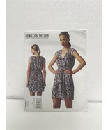VOGUE Sewing PATTERN V1344 DRESS Rebecca Taylor DESIGNER  SIZES 14 16 18... - $29.69