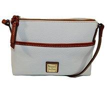 Dooney & Bourke Pebble Leather Ginger Pouchette Crossbody Bag