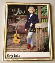 MARGO SMITH  FRAMED AUTOGRAPH PHOTO - $38.00
