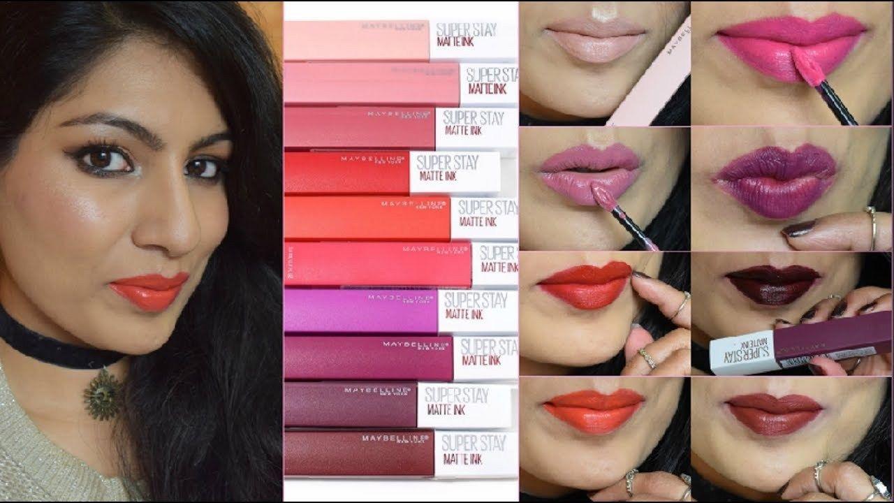 BRAND NEW Maybelline Women Superstay Matte Ink Liquid Lip Lipstick 5ml