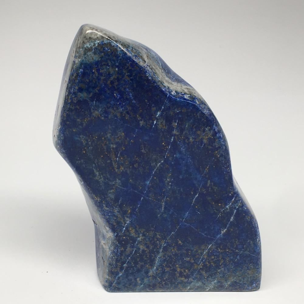 "5.1""x2.7""x0.9"",376.4g,Natural Polished Freeform Lapis Lazuli @Afghanistan,PL76"