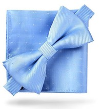 Flairs New York Little Gentleman's Kids Bow Tie Baby Blue [Glitter Dots] - $9.22