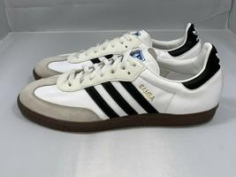 Men's Adidas Originals Samba G17102 White Black Size 11 - $70.00