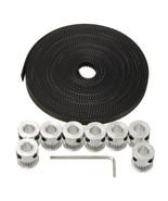 20T GT2 Aluminium Timing Pulley 2GT 5M Belt For RepRap Prusa Mendel 3D P... - $12.88