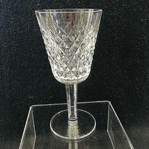 Older Waterford Crystal Alana White Wine Goblet Glass Excellent Shape 6 ... - $39.11