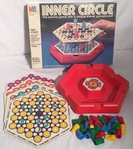 Vintage Milton Bradley Inner Circle Board Game Incomplete Missing Two Pawns - $14.84