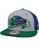 Mission Roller Hockey Life on the Roll New Era Snap back Flat Bill Style Cap Hat - $18.04