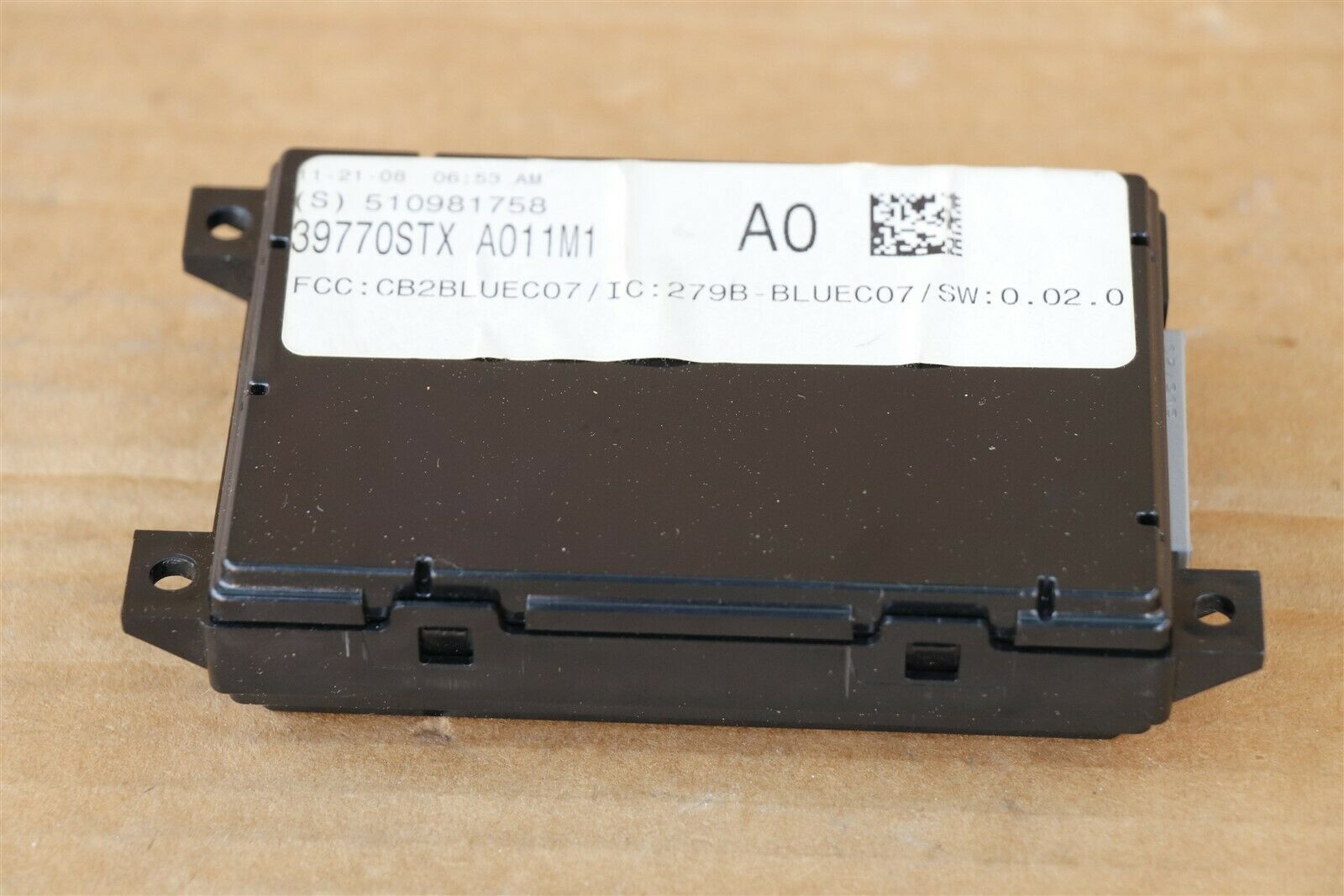 07 08 09 ACURA MDX Bluetooth Communication Control Module Link 39770-STX-A011M1