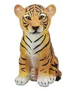 "Ebros Large 10"" Tall Samba The Bengal Orange Tiger Cub Statue As Indian ... - $27.67"