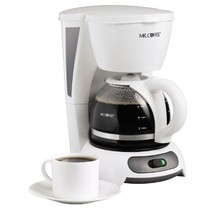 Mr. Coffee TF4 4-Cup Switch Coffeemaker, White - $27.62