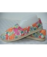 NEW LIBERTY Havaianas Orchid Rose Womens Sz 8 Floral ESPADRILLE Canvas S... - $29.69