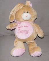 SUGARLOAF SUGAR LOAF STUFFED PLUSH BABYS BABY'S FIRST BUNNY RATTLE PINK ... - $23.75