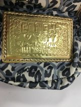 Coach Bag Evening Poppy Gold Sequin Crossbody Leather Chain 43292 Gold B2E image 10
