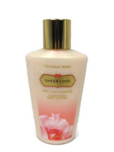 Victoria's Secret Sheer Love White Cotton Pink Lily Hydrating Body Lotio... - $14.84