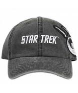Star Trek USS Enterprise Spock and Captain J. T. Kirk  Adjustable Hat Grey - $32.98