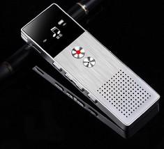 Mini Digital Voice Recorder Flash Built In Loudspeaker Dictaphone Music ... - $52.35