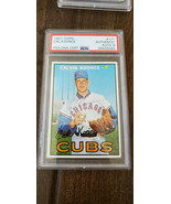 1967 Topps Signed Auto Card Cal Koonce Chicago Cubs 1969 Mets #171 PSA - $125.73