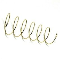 18K YELLOW GOLD MAGICWIRE LONG FINGER RING, ELASTIC WORKED WIRE, SNAKE image 1