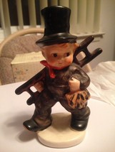 Vintage Goebel Chimney Sweep Boy w Ladder Stylized Bee Trademark KF40 TM... - $17.99