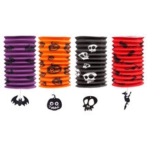 Halloween Paper Lantern Pumpkin Horror Style Halloween Night Decoration ... - $12.95