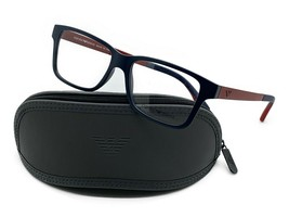 Emporio Armani Eyeglasses EA 3018 Blue 5122 Size 53mm Optical Frame New - $67.87