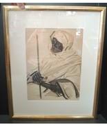 Vintage Giclee Artist Signed Print Sultan Black Cruise by Aleksandre Yak... - $189.99