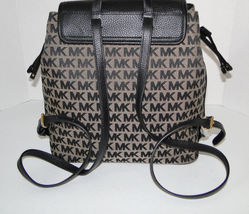 Michael Kors Large Bedford Signature Backpack NWT image 3
