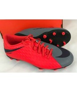 Nike Womens Soccer Shoes hypervenom phade III FG grey purple dynasty 815... - $38.88