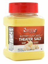 Snappy Buttery Flavored Theater Popcorn Salt, 19 Ounce - $18.71
