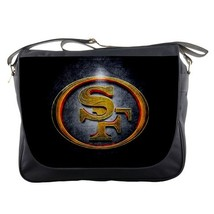 Messenger Bag San Francisco 49ers Logo Popular American Football Team Dark Desig - $30.00