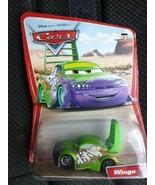 Sealed Mattel Pixar Disney Cars Desert Series WINGO green & purple toy car - $24.77
