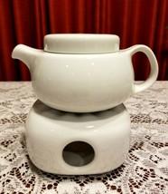 Bauscher Weiden Bavaria Teapot & Tealight Base Hutschenreuther Germany 3... - $29.99