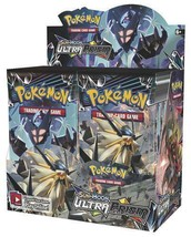Sun & Moon Ultra Prism 18 Booster Pack Lot 1/2 Booster Box POKEMON TCG SM5 - $99.99