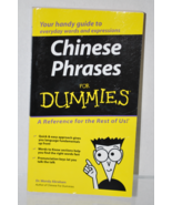 Chinese Phrases for Dummies by Dr. Wendy Abraham (pre-owned) Softcover - $2.25