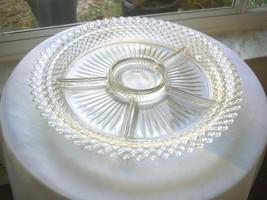 Hocking Glass Miss America Pattern 5 Part Relish Dish c 1935/1938 - $8.91