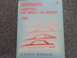 1992 Nissan Sentra NX 1600 2000 Service Repair Shop Manual Factory OEM B... - $148.49