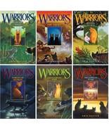 Erin Hunter WARRIORS Childrens Fantasy Series Collection Set HARDCOVER B... - $76.99