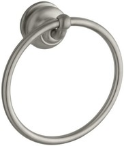KOHLER K-12165-BN Fairfax Bathroom Towel Ring, Vibrant Brushed Nickel - $61.51