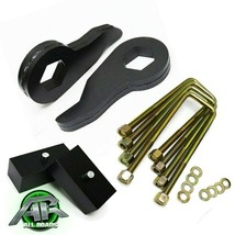 "Full 1-3"" Adj Steel Front + 2"" Rear Blocks Lift Kit For 1988-1999 Chevy ... - $142.20"