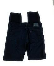 Levi's Men's 511 Slim Fit Stretch Black Label Mid Rise Denim Black Jeans... - $23.27