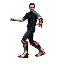 Hot Toys Iron Man 3 Movie Masterpiece Tony Stark Collectible Figure - $638.55