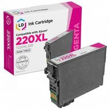 Epson 220XL Magenta Cartridge Replacement (Remanufactured T220XL320) - $11.03