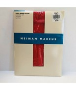 Neiman Marcus Ultra Sheer Nylon Panty Hose Size A Sherbet Red Control To... - $15.84