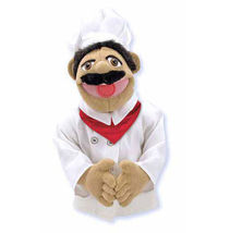"Melissa & and Doug 15"" CHEF PUPPET Chef Pee Pee [New] - $29.99"