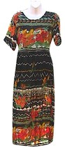 MPH Short Sleeve Rayon Summer Maxi Dress - $25.00