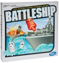 Battleship - The Classic Naval Combat Strategy Board Game from Hasbro Games - $17.84
