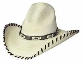 Bullhide Palm Leaf Hat Women's Western THE LAST CHIEF 20X Shooter / Gus ... - $64.95