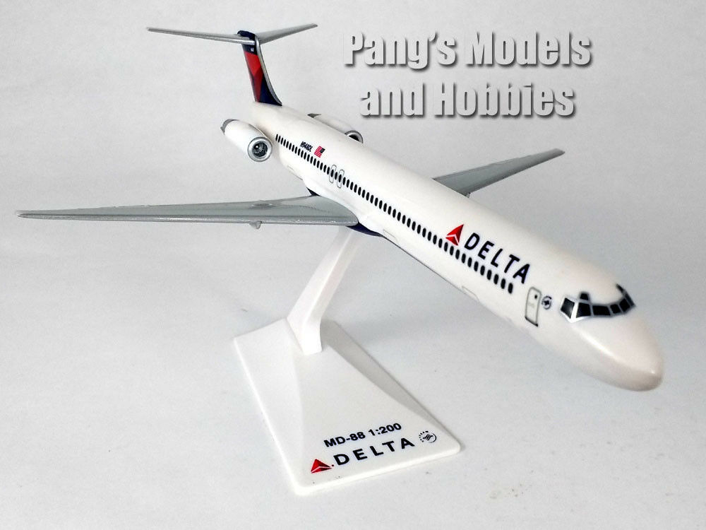 Primary image for MD-88 (MD-80) Delta Airlines 1/200 Scale Model by Flight Miniatures