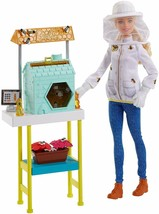 Beekeeper Career Barbie Doll Playset NEW - $15.98